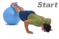 push ups exercise start