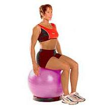 rehabilitation exercise seated balance