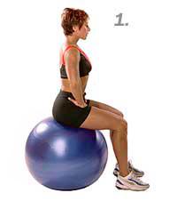 seated lumbar first step