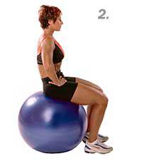 seated lumbar second step