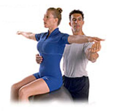 rehabilitation exercise spine twist